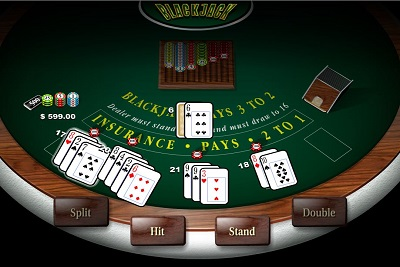 Blackjack, online game