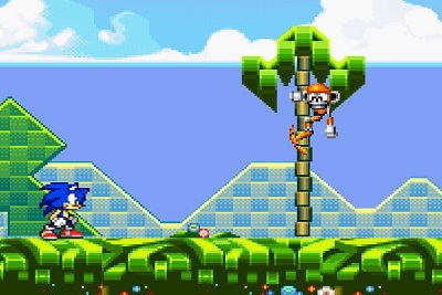 Sonic Flash, online game